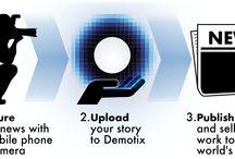 Demotix Website / by Demotix