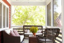 Screen Porch Ideas / by Tricia Barry