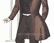 1840s man fashion