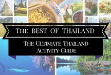 Travel: THAILAND / Everything you need to know about traveling in Thailand. Where to go, what to do, where to stay and so much more.