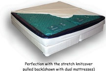 SOFT SIDE WATERBEDS / To begin with, If you agree your bed is the recharge unit for your body and the  better the daily recharge the better off you will ultimately be. Reading the following  physical facts and theories without marketing BS should be helpful. http://waterbedstoday.com/SOFTSIDE_PERFECTBED.html