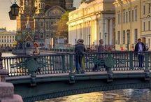 San Pietroburgo-Mosca-Kiev.