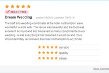 Reviews / Wedding & Event Reviews / by Hotel Northampton