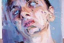 jenny saville / by John Ingamells