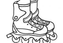 Disegni di Sport da Colorare / disegni di sport da colorare per bambini