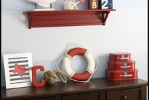 Boys bedroom ideas / Decorating boy's bedrooms with vintage furniture.