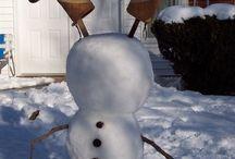 Snø mann