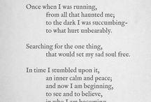 poetry.  / by Alena Bearden