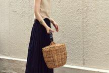 かわいい夏服コーデのアイデア