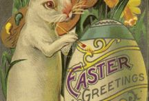 EASTER GREETING'S & SPRING HAS SPRUNG !! / by Sandy Parish