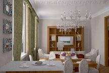 the interior in the style of modern classics / neoclassika
