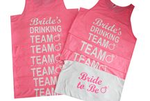 Bride Drinking Team Tank Top Set