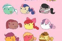 Did you know I love ponies? / My Little Pony. My Little Pony. My Little Pony.