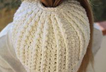 Beanies crocheted