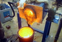 Induction Melting Furnace / Induction Melting Furnaces are used to melt copper,bronze,iron,stainless iron and all other metals.  http://www.dw-inductionheating.com/Induction-Melting-Furnace-19-1.html