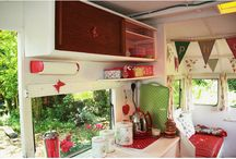 Vintage Campers / by The Happy Woman