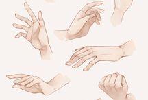 эскизы руки