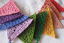 crochet garlands Buntings