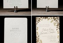 Wedding Invitation - Monograms