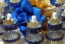 chá de fraldas decoração