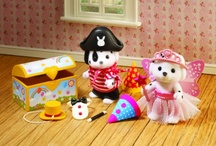 Sylvanian, petits malins, forest families