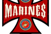 US Marines Signs