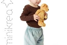 MiniKrea Baby / Comfy and stylish DIY patterns for babies.