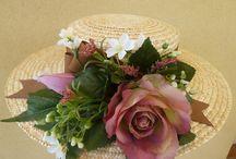 sombreros y canotiers / Sombreros y canotiers para bodas y playa