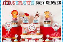 baby shower circus