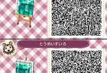 QR de suelos de Animal crossing