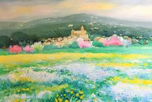 "Pintura: Fons d'art de Platjad'Aro/Castell d'Aro/S'Agaró / Exposición del fondo artístico del municipio en la ""Masia Bas"" de Platja d'Aro (70 obras)"