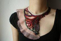 Crochet collares