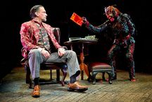 """The Screwtape Letters: October 11, 2015 / The Screwtape Letters is a smart, provocative and wickedly funny theatrical adaptation of the C.S. Lewis novel about spiritual warfare from a demon's point of view. The play, set in a eerily stylish office in hell, follows the clever scheming of one of Satan's Senior Tempters, Screwtape. He advises his nephew, a junior tempter, on enticing a human 'patient' toward damnation. In this topsy-turvy, morally inverted universe, God is the """"Enemy"""" and the Devil is """"Our Father below."""""""
