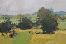 pintura paisaje