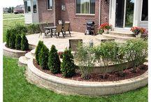patio ideas / by Jill Tallents