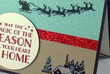 Cozy Christmas Card Ideas / by Laurie Graham: Avon Rep