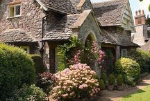 Beautiful old houses and cottages