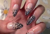 Nails / Nail art done on my natural nails by me