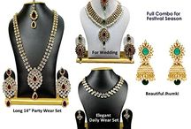 Special Wedding Party Lot Bollywood Designer Jewelry Set