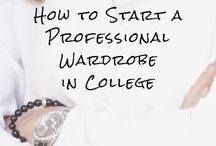 Women's Professional Dress / It's a common myth that you don't need professional clothing until you have a real job. This myth has been busted! There are lots of occasions in college that professional dress is necessary and will only help you succeed!