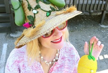 I am in a Pickle - DIY - Make a pickle hat / DIY Upcycled Pickle Hat made with pickles, gemstones and chenille. I drew inspiration from a Maybelle Marie Birch 1950s vintage hat.