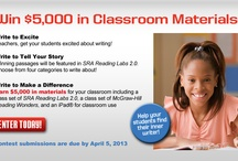 Teacher Contests Apr 2013 / #teacher #contest #giveaway #Sweepstakes #grant