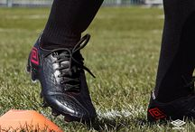 Umbro Black & Lava Pink Colourway / Umbro's AW13 boot collection, the Speciali 4, Geometra II and the all new GeoFLARE in a smart black and lava pink colourway. For more information take a look at http://www.umbro.com / by Umbro