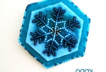 Tatted Lace Snowflakes