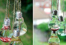 Light Bulbs!! / Light bulb displays and Decoration ideas!
