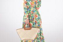 Floral muslim dress