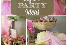 PARTY THEMES AND DECORATIONS / by Peggy M