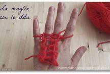 lavori con le dita