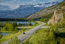 Drive from Jasper to The Overlander / Not just an ordinary commute. Mountain, Lakes, Streams and Wildlife as you make your way from Jasper townsite to the Overlander Lodge by the East Park Gates
