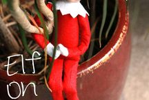 Johnny the Christmas guy. / Elf on the shelf / by Peggy Sinclair